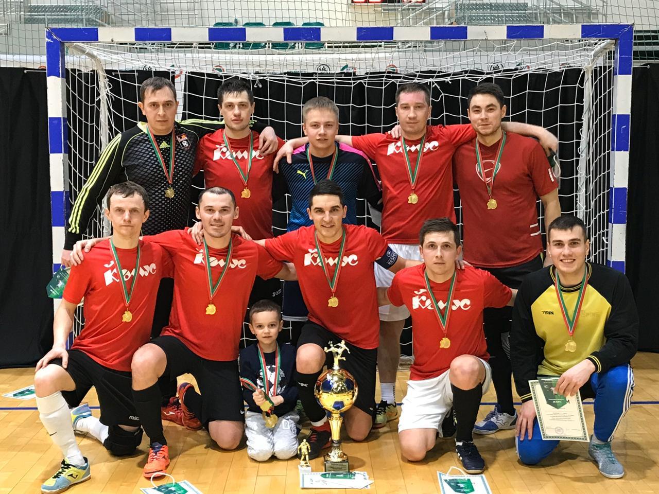 Проходит V Кубок Дворца единоборств «Ак Барс»-2020 по мини-футболу !
