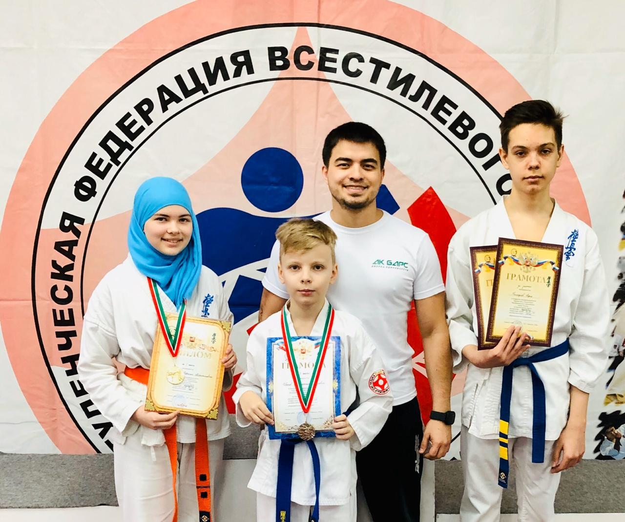Открытый Чемпионат и Первенство г. Казани по Всестилевому каратэ
